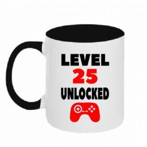 Kubek dwukolorowy Level 25