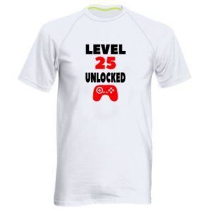 Men's sports t-shirt Level 25