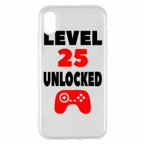 Phone case for iPhone X/Xs Level 25