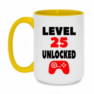 Two-toned mug 450ml Level 25
