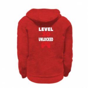 Bluza na zamek dziecięca Level 30