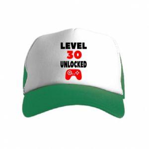 Czapka trucker dziecięca Level 30