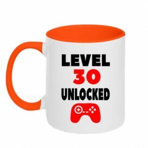 Two-toned mug Level 30