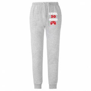 Męskie spodnie lekkie Level 30