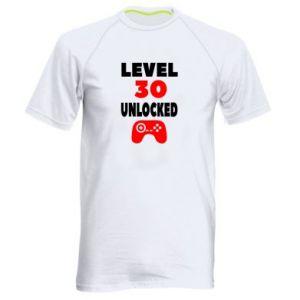 Men's sports t-shirt Level 30