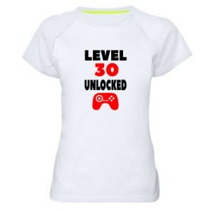 Women's sports t-shirt Level 30