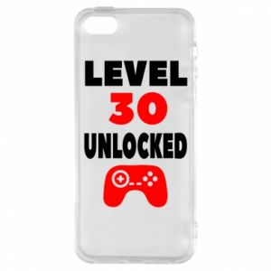 Phone case for iPhone 5/5S/SE Level 30