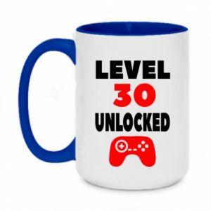 Two-toned mug 450ml Level 30