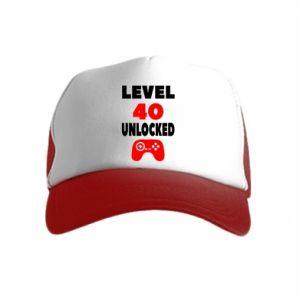 Czapka trucker dziecięca Level 40