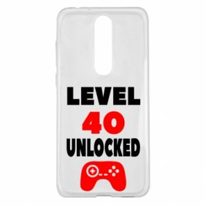 Etui na Nokia 5.1 Plus Level 40