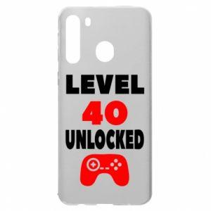 Etui na Samsung A21 Level 40
