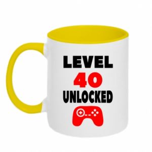 Two-toned mug Level 40