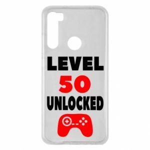 Xiaomi Redmi Note 8 Case Level 50