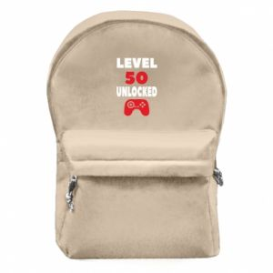 Backpack with front pocket Level 50