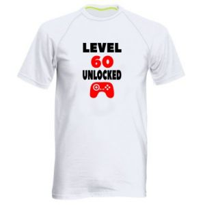 Men's sports t-shirt Level 60