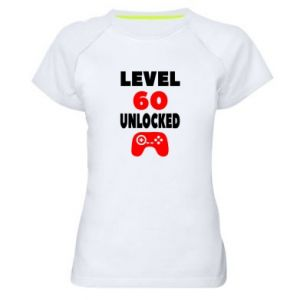 Women's sports t-shirt Level 60