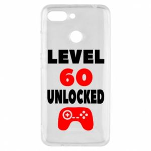 Phone case for Xiaomi Redmi 6 Level 60