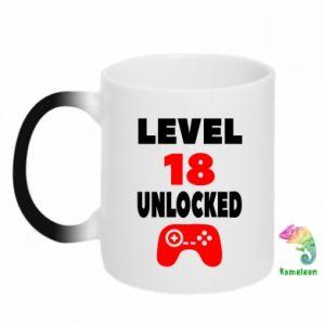 Kubek-kameleon Level 18
