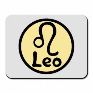 Podkładka pod mysz Leo - PrintSalon