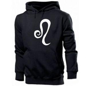 Men's hoodie Leo sign