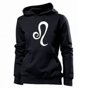 Women's hoodies Leo sign