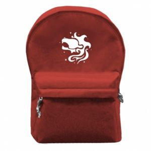 Backpack with front pocket Leo