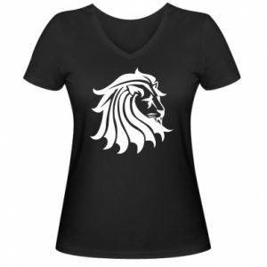 Damska koszulka V-neck Lew