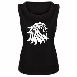 Damska koszulka bez rękawów Lew
