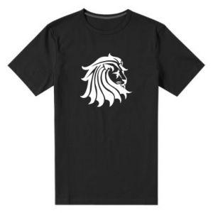 Męska premium koszulka Lew