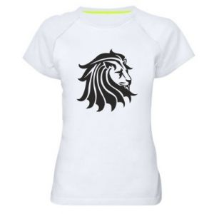 Women's sports t-shirt Lion