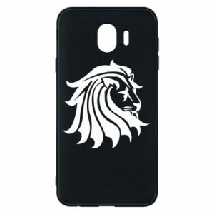 Samsung J4 Case Lion