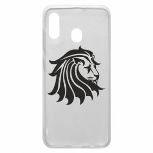 Samsung A20 Case Lion