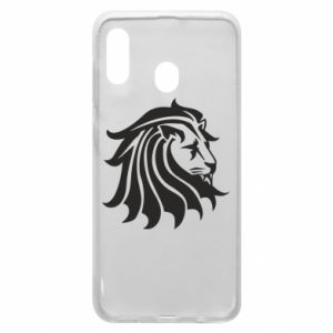 Samsung A30 Case Lion