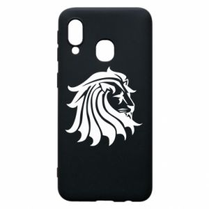 Samsung A40 Case Lion