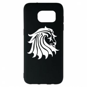 Samsung S7 EDGE Case Lion