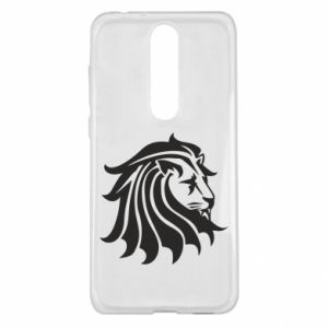 Nokia 5.1 Plus Case Lion