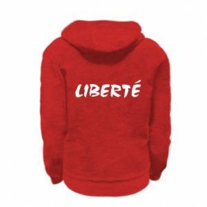 Bluza na zamek dziecięca Liberté