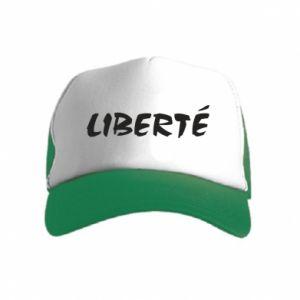 Czapka trucker dziecięca Liberté