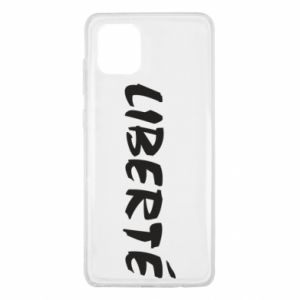 Etui na Samsung Note 10 Lite Liberté