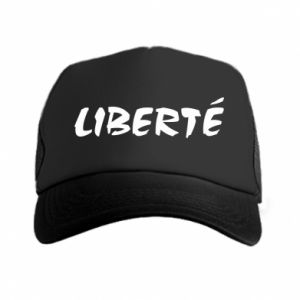 Czapka trucker Liberté