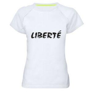 Koszulka sportowa damska Liberté