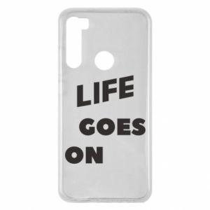 Etui na Xiaomi Redmi Note 8 Life goes on
