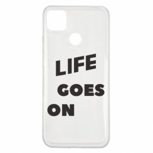Etui na Xiaomi Redmi 9c Life goes on