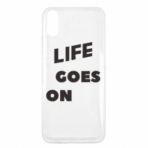 Etui na Xiaomi Redmi 9a Life goes on
