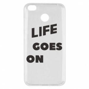 Etui na Xiaomi Redmi 4X Life goes on