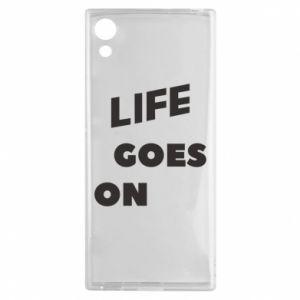 Etui na Sony Xperia XA1 Life goes on