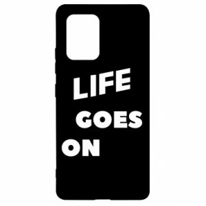 Etui na Samsung S10 Lite Life goes on