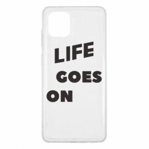 Etui na Samsung Note 10 Lite Life goes on