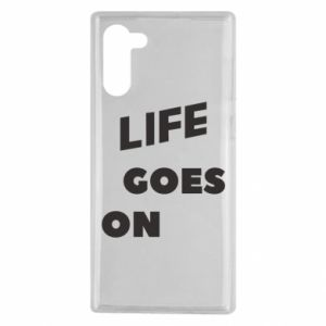 Etui na Samsung Note 10 Life goes on