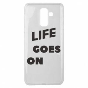 Etui na Samsung J8 2018 Life goes on
